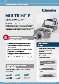 Eisele Multiline Industrial Connector